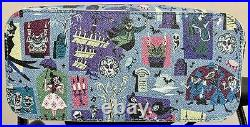 Pre-owned 2020 Disney Dooney & Bourke Haunted Mansion Crossbody Bag