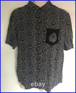 RARE Disneyland Club 33 Haunted Mansion 50th Tiki Camp Shirt Medium with Tags