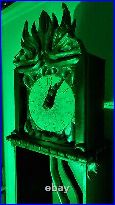 SEE VIDEOFULL SIZE animatronic 13 hour clock Haunted Mansion Disneyland
