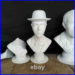 SEE VIDEO 18 Haunted Mansion SINGING BUSTS Ride Accurate