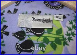SHAG Josh Agle Disneyland Disney 40th Haunted Mansion Aloha Tiki Shirt 999 XL