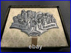 SOLD OUT! Haunted Mansion 50th Anniversary Super Jumbo Metal Pin Disney LE500