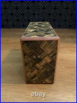 Scarce Vintage Disneyland HAUNTED MANSION Secret Panel Chest Puzzle Box Rare