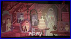 Shag Disney A Gruesome Widow Bride, 9in X 19in. Haunted Mansion HM LE 12 of 295