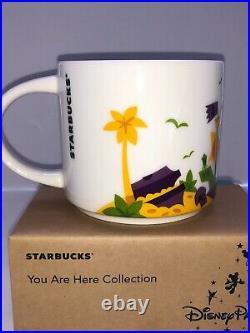 Starbucks You Are Here Mug Disneyland Haunted Mansion New Orleans (nib)