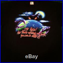 VTG 90s Disney Alien Encounter Ride Promo Rare Vintage Shirt Mens XL