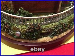 Very Rare Hawthorne Village Disney Haunted Mansion House Animated Exc Condition