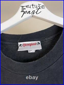 Vtg 90s Mickey Goofy Haunted Mansion disneyland halloween spooky shirt large