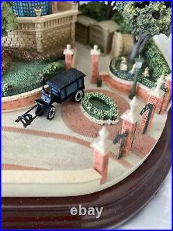 WALT DISNEY WORLD Haunted Mansion with 3 scenes Olszewski -main Street Series