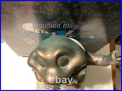 Walt Disney World Haunted Mansion Room for 1 More Mr. Toad Bronze Statue In Box