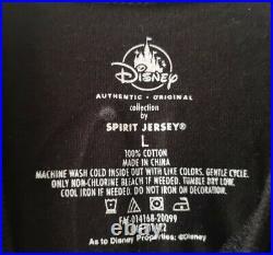 Walt Disney World Haunted The Mansion Wallpaper Spirit Jersey Adults Large New L